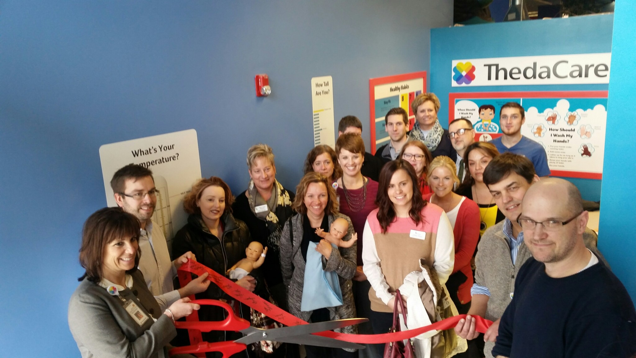 A grand opening for the remodeled Doll Hospital exhibit at The Building for Kids Children's Museum in Appleton took place Wednesday afternoon. Photo by Brooke Van Roy