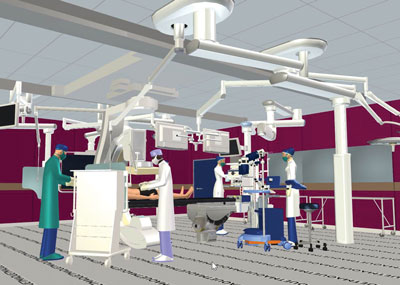 The addition of a new high-tech, hybrid surgical suite at Appleton Medical Center is slated to be open in September. Image courtesy of ThedaCare